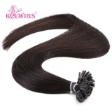 Uの先端Hiarの6AブラジルのRemyの毛、人間の毛髪の拡張