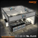 Haut étalage en aluminium d'armature d'étalage d'armature de qualité