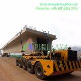 طريق [بي-ديركأيشنل] مزدوجة يقود بناء عارضة شركة نقل جويّ يغذّي مقطورة