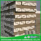 Le plus défunt guichet conçoit le moulage de polyuréthane de corniches de construction de mousse d'ENV
