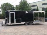 Panel de vidrio Re-Enforced Móvil de Alimentos de Alta Calidad para la venta camión de remolque