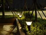 Indicatore luminoso decorativo esterno solare del cortile dell'alberino della lampada 12V LED del giardino del prato inglese