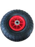 Pneumático de roda pneumático 3.50-4 do Wheelbarrow preto do carro do trole da mão do caminhão do saco