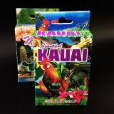 Maui Colorido papel recuerdos Naipes con soporte