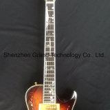 Prs стиле твердых Flamed полосой Silvery оборудование электрической гитаре (GP-29)