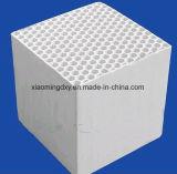 アルミナまたは菫青石またはムライトのRtoのための陶磁器の蜜蜂の巣のモノリスの熱交換器