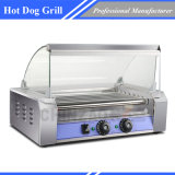 7 Rollers Stainless Steel Hotdog Griller _ Rouleaux Hot Dog _ Hotdog Grill Roller