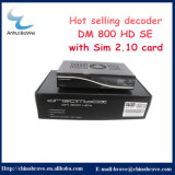 New 800HD Se Satellite Receiver를 가진 비전 Satellite Programs