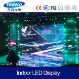 De alta calidad! P6 1/8s en el interior del panel de LED RGB para la etapa