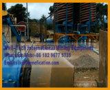 Planta de lavado de mineral de cromo Separador de espiral