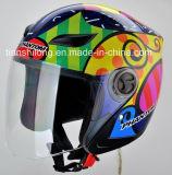 Шлем Moto стороны конструкции ECE высокомарочный открытый половинный