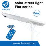 30W todo en una alta calidad solar del ingenio de la luz de calle