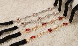 مجوهرات بلّوريّة كبّل صديرية [رهينستون] [شوولدر سترب] نساء ملبس داخليّ شريكات