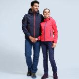 옥외 운동 방수 스포츠용 잠바 남녀 공통 가득 차있는 지퍼 재킷