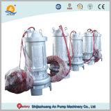 Acciaio inossidabile elettrico non che blocca la pompa sommergibile dei rifiuti con l'agitatore
