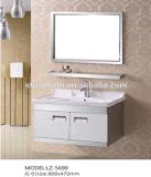 Vanité commerciale bon marché de salle de bains d'acier inoxydable (LZ-5690)
