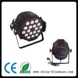 4en1 18pcs 10W conduit par la lumière
