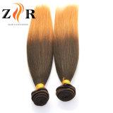 2017 extensiones coloreadas alta calidad del pelo de Ombre