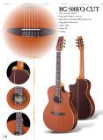 工場卸し売りシタンの斜めに裁ったアコースティックギター