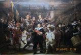 Het horloge van de Nacht door Rembrandt Reproduced Olieverfschilderijen