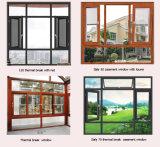 Buona qualità e finestra di vetro di alluminio di prezzi ragionevoli doppia