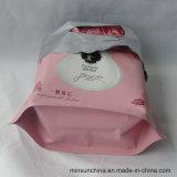 PE 선물을 인쇄하는 주문을 받아서 만들어진 로고는 손잡이를 가진 플라스틱을 자루에 넣는다