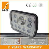 천사는 보장 2 년을%s 가진 지프를 위한 LED 헤드라이트 7X6 LED 헤드라이트를 주목한다