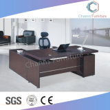Fashion Black L Shape Office Counts with Side Desk (CAS-MD18A16)