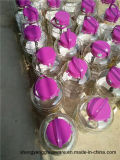 Botella de vino de gran tamaño de la botella de la bebida de los utensilios de cocina del envase de cristal del tarro del almacenaje del vino de la muestra libre