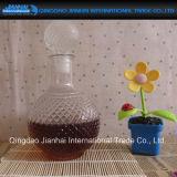 Bottiglia di vino libera di vetro bevente di disegni della cucurbita