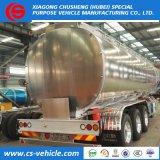 Del petróleo del transporte del combustible del petrolero acoplado semi 36000 litros del combustible del petrolero de acoplado semi