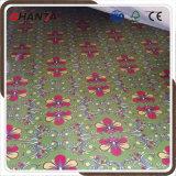 Contre-plaqué de polyester de couleur de fleur pour le panneau de mur