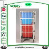 4 складные двери металлические съемных склад динамического контейнера