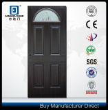 Fangda保護PVC上塗を施してある小さい楕円形の赤いチークの外部ドア