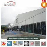 tenten van de Tentoonstelling van het Aluminium van 40X60m de Openlucht, de Witte Permanente Structuur van de Zijwand van pvc van de Kleur