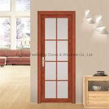 Boa qualidade Double Layer Glass Aluminium Casement Front Door (FT-D80)