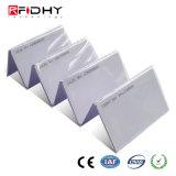 Número de pulverización de PVC sin contacto RFID Tarjeta de doble frecuencia