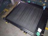 Plaque et barre hydrauliques en aluminium avec le réfrigérant à huile de déviation
