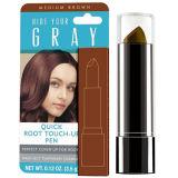 De tijdelijke 100% Grijze Pen van de Kleur van het Haar van de Dekking