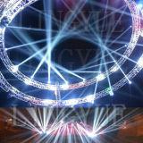 La fase DJ di DMX che sposta l'azzurro di Beam200 5r si illumina