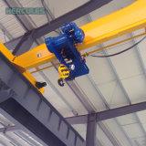 Электрический одиночный мостовой кран луча с крюком