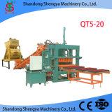 De hoge Vraag van de Markt qt5-20 Concrete het Maken van de Baksteen Machine