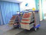 AG-Et001A1 ABS het Plastic Medische Karretje van het Gebruik van het Ziekenhuis van de Noodsituatie van de Verzorging