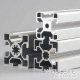 Personalizar el aluminio anodizado Perfil con Ranura en T para la protección de seguridad