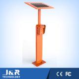 Angeschaltenes Datenbahn-Solartelefon, Campus-Hilfen-Punkt, Straßenrand-Nottelefone