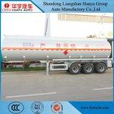 Réservoir de stockage de pétrole de marchandises/de camion-citerne remorque inflammables semi avec la pompe