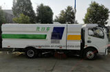 Dongfeng 6 de Vrachtwagen van de Zuiging van het Zand van de Vrachtwagen van de Veger van de Bestrating van Wielen 5m3