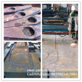 Ar500耐久力のある鋼鉄はNm400 Nm500の鋼板切断の地図をつくる