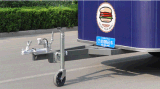 Большинств популярный передвижной трейлер еды улицы тележки еды