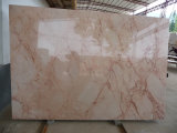 Polierrosa-beige Marmorplatte